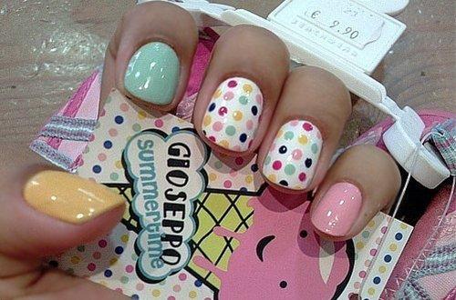 фото легкий дизайн ногтей
