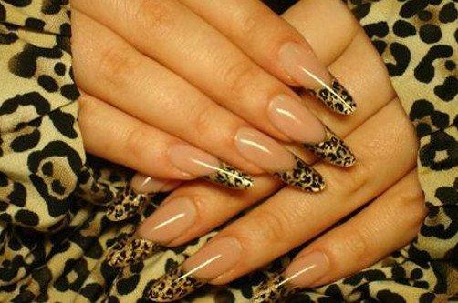 леопардовый френч фото