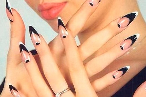острые ногти фото