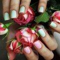 легкий дизайн для ногтей фото