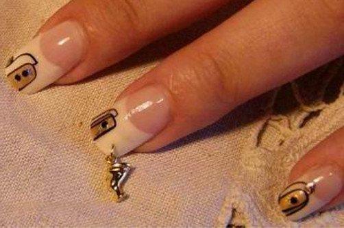 пирсинг и ногти фото