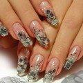 прозрачные ногти фото