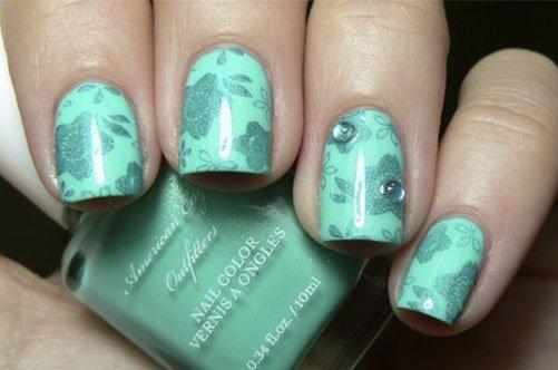стильный дизайн ногтей фото