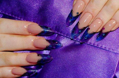 гель дизайн ногтей фото