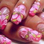 — это дизайн гелевых ногтей 2013