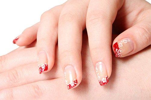 дизайн гелевых ногтей 2013 френч фото