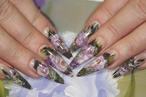 аквариумный дизайн гелевых ногтей 2013 фото