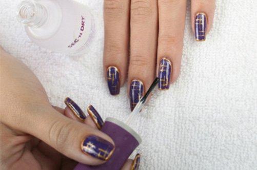 стильный дизайн гелевых ногтей 2013 фото