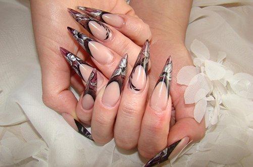дизайн ногтей гель осень 2013 фото
