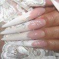 дизайн ногтей для невесты фото