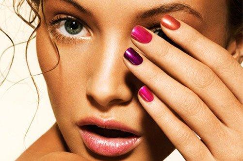 стильный дизайн ногтей гель-лаком фото