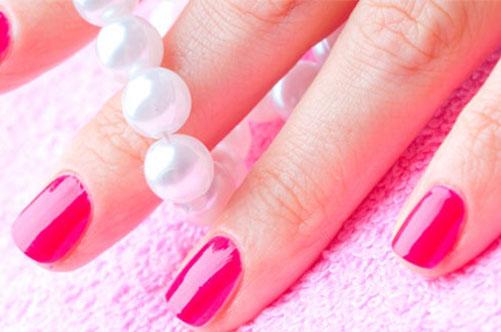 розовый дизайн ногтей гель-лаком фото