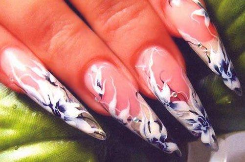 дизайн ногтей гелем фото