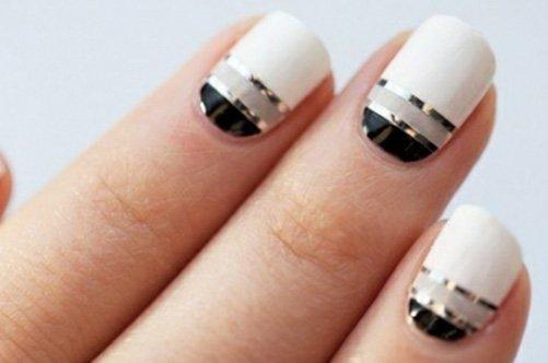 дизайн ногтей техника литье фото
