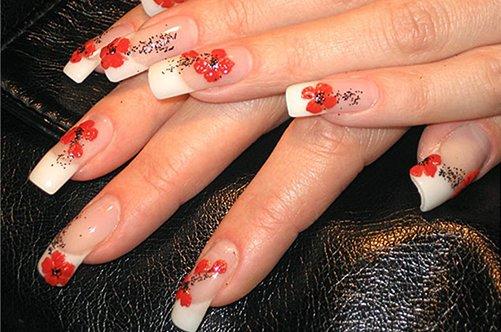 дизайн ногтей маки фото