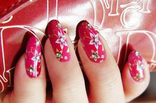 дизайн ногтей выпускной фото