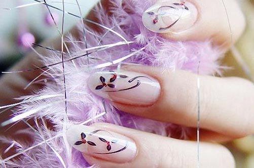 дизайн ногтей 2013 с рисунком фото