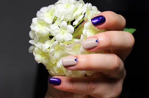 дизайн гелевых ногтей фото