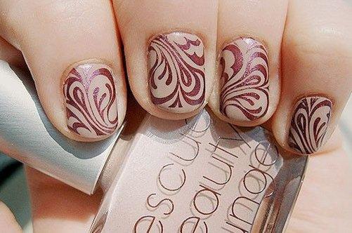 фото дизайна коротких ногтей