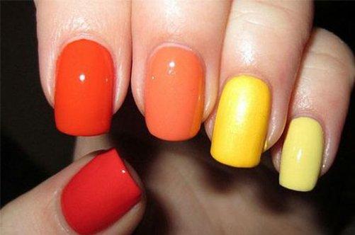 яркий дизайн ногтей в домашних условиях фото