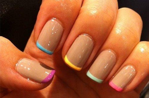 фото дизайна квадратных ногтей франзцузский маникюр фото