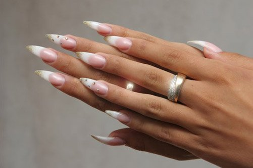 френч дизайн ногтей фото