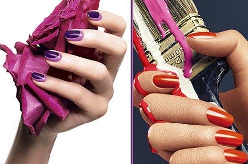 фото новых красных и бордовых дизайнов ногтей 2013
