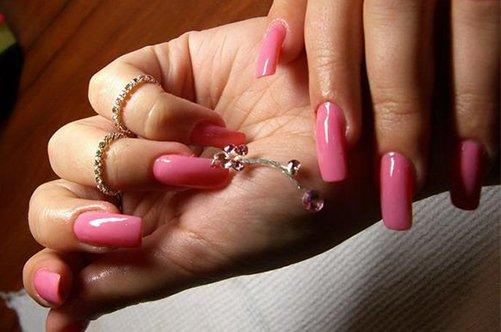 фото нового дизайна ногтей с пирсингом 2013