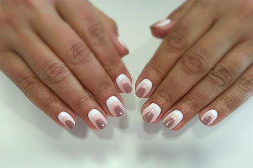 фото градиентного дизайна ногтей лето 2013
