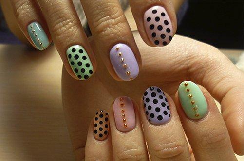 фото дизайна ногтей лето 2013 с бусинками