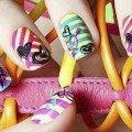 фото ярких дизайнов ногтей