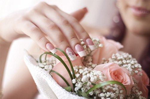 фото свадебного дизайна ногтей