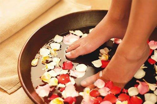 лечебный педикюр ванночка фото