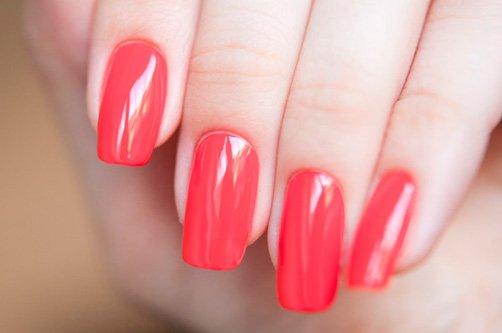 красный дизайн ногтей 2013 фото