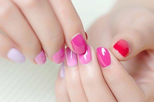 модный розовый дизайн ногтей 2013 фото
