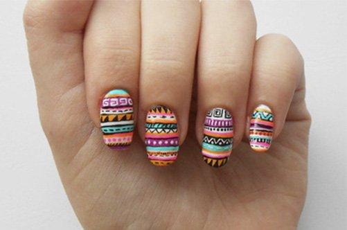 авангардный дизайн ногтей 2013 фото