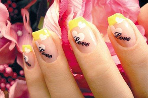 модный дизайн ногтей френч фото