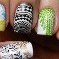 модный дизайн ногтей осень 2013 фото