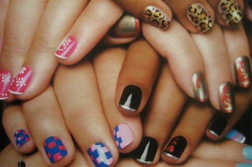 модные дизайны ногтей осень 2013 фото