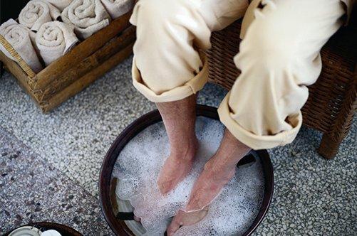 ванночка для мужского педикюра фото