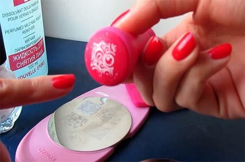 Фото кружевного дизайна ногтей