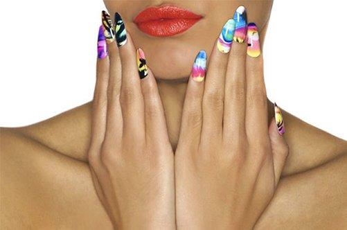 наклейки на ногти дизайн фото