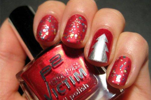 новые дизайны ногтей 2013 елочка фото