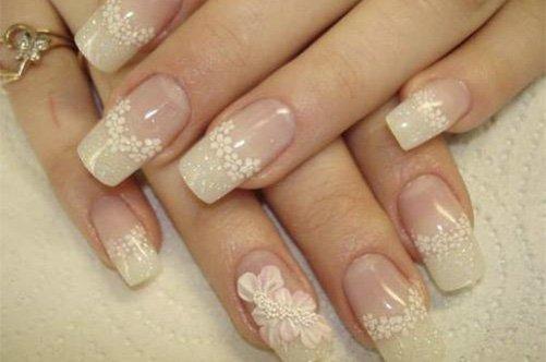 новый дизайн ногтей нежный френч фото