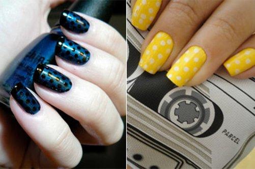 неоновый маникюр новинки дизайна ногтей 2013 фото