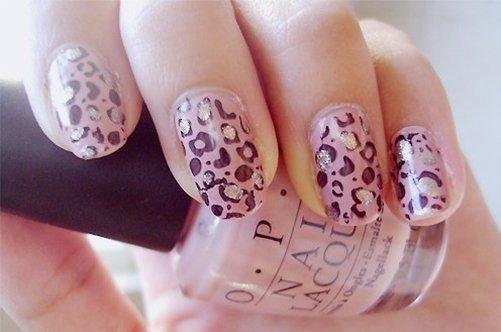 леопардовй дизайн ногтей 2013 фото
