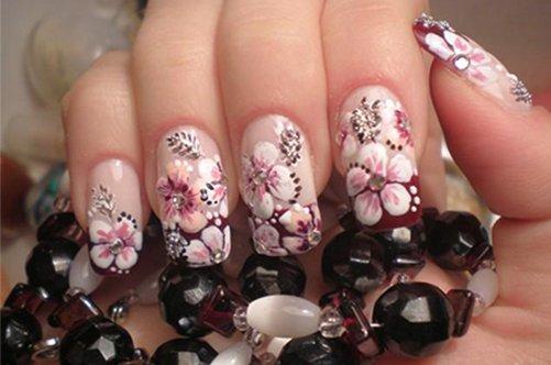 роспись и дизайн ногтей фото