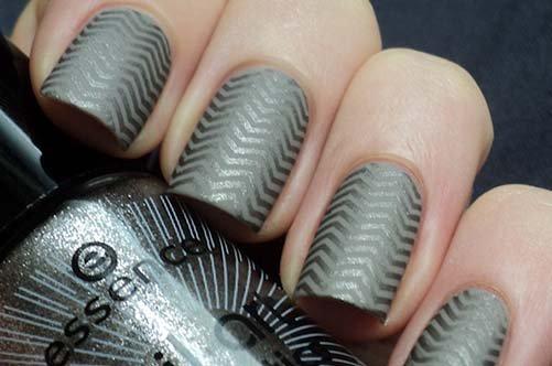 маникюр штам для дизайна ногте фото