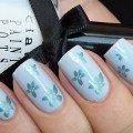 современный дизайн ногтей цветы фото