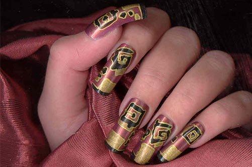 современный дизайн ногтей фото